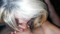 Wife gives me a blowjob