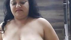 Paid randi riding on customer  hanging boobs