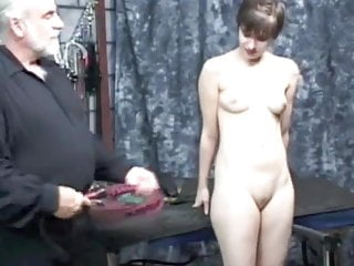 Shorts spank Short-haired girl gets spanked - part 2
