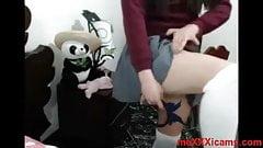 Nena de secun ensena culo en uniforme completo en meXXXicams
