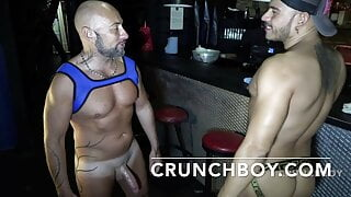 the sexy Ronal TRYP fucked bareback by Jess ROYAN for Crunch