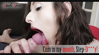Cum in my mouth, Stepdaddy! - preview – Amedee Vause