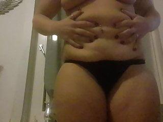 Pot belly sluts Saggy belly slut part 2