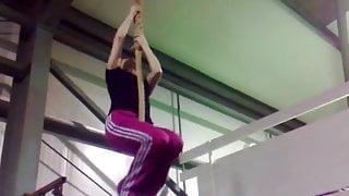 rope climbing #1