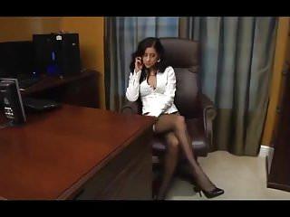 Teen feet lesbian Office feet worship pt 1