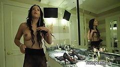 Guy bangs busty sheshaft in lingerie
