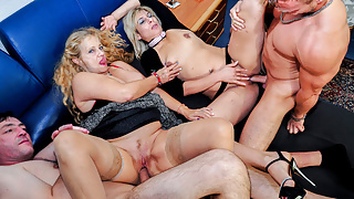LETSDOEIT - Hardcore Group Sex with German Swingers