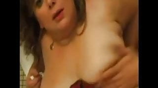 FRENCH MATURE anal bbw step mom with younger man
