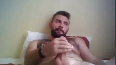 Masturbating Turkey-Turkish Beefy Cub Jacks Off And Cums
