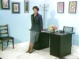 Spanked paddled discipline Office discipline