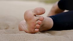 Feet 031 - More Sandy Toes