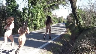 Outdoor sex and public nudity during the covid19 quarantine