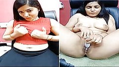 Today Exclusive-Super Sexy Bhabhi Nude On Sky...