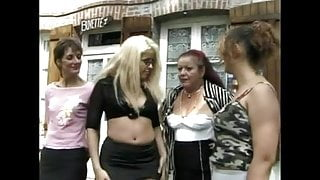 FRENCHMATURE 15 brunette granny step mom and a blonde babe