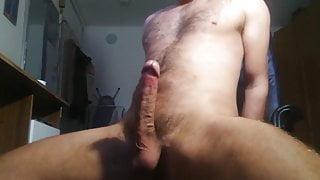 BEAUTIFUL SEXY WANKER HUGE COCK Solo 07