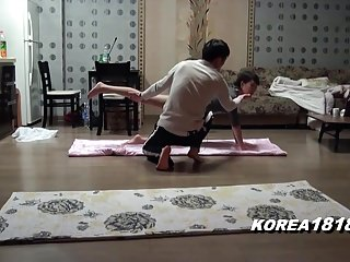 Hottest korean porn Korean porn yoga sex