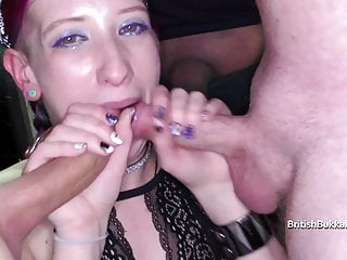 Cum swapping cutties Filthy oral cum and cum swapping sluts