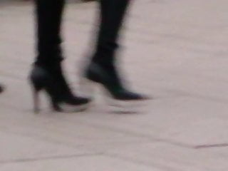 Big tit women in high heels Random women in heels no. 118