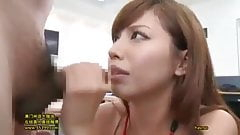 Miyuki does oral sex a coworkers