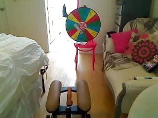 Yeam rocket porn - Sexy blonde rides rocket chair on cam