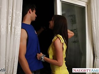 Sexy yellow dresses Brunette cutie in yellow dress brandy aniston fucking