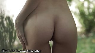 21Naturals Tiny Blonde Buttfucked on Golf Cart
