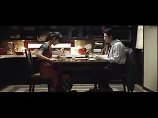Husband fucks asian wife Japanese wife fucked on table by husband