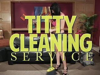 Naked maid home cleaning service uk - Titty cleaning service