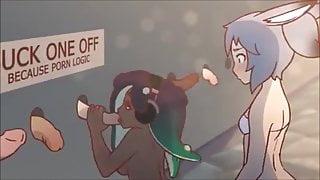 Marina Gloryhole Animated Loop