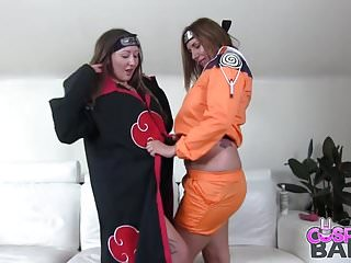 Gay naruto henti Japanese cosplay busty naruto