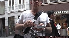 Real inked Dutch whoore fucked by tourist