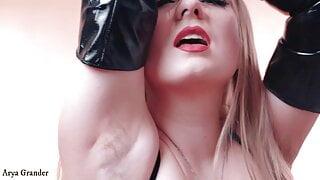 compilation2 of Hairy Armpits FemDom POV video by Arya