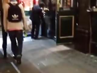Golden heart pub nettleton bottom - Slag getting fingered outside london pub