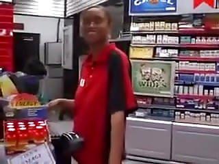 Custom girl calvin peeing decals - Gas station girl sucks off customer