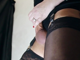 Slow hairy nylon tease video Slow motion foot and nylon erotic