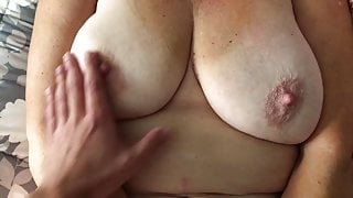 63 year old Woman and Younger Man Fucking