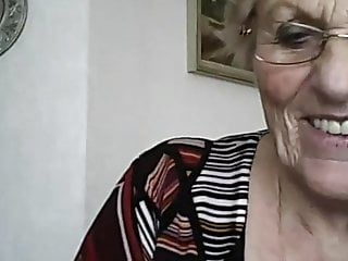 Sango showing her tits - Granny showing her tits