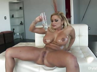 Real estate milf - Busty real estate agent shyla takes black cock