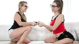 Nerd Girls Turn Into Lesbians - Lilly Ford, Jill Kassidy