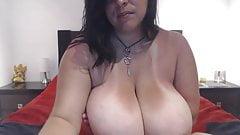 Big saggy fat tits with big nipples