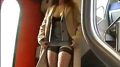 Hot sex in a train-toilet