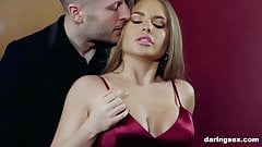 Alessandra Jane get picked up and hardcore fucked