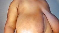 HUGE saggy boob play Sessybianca
