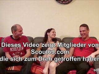 Real coed sex videos Shy 18yo german ginger schoolgirl real homemade threesome