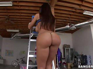 Lisa ann anal gangbang Fat oiled ass lisa ann loves anal