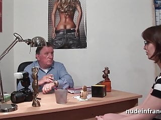 Sweet shemale videos - Amateur casting couch of a sweet busty brunette hard banged
