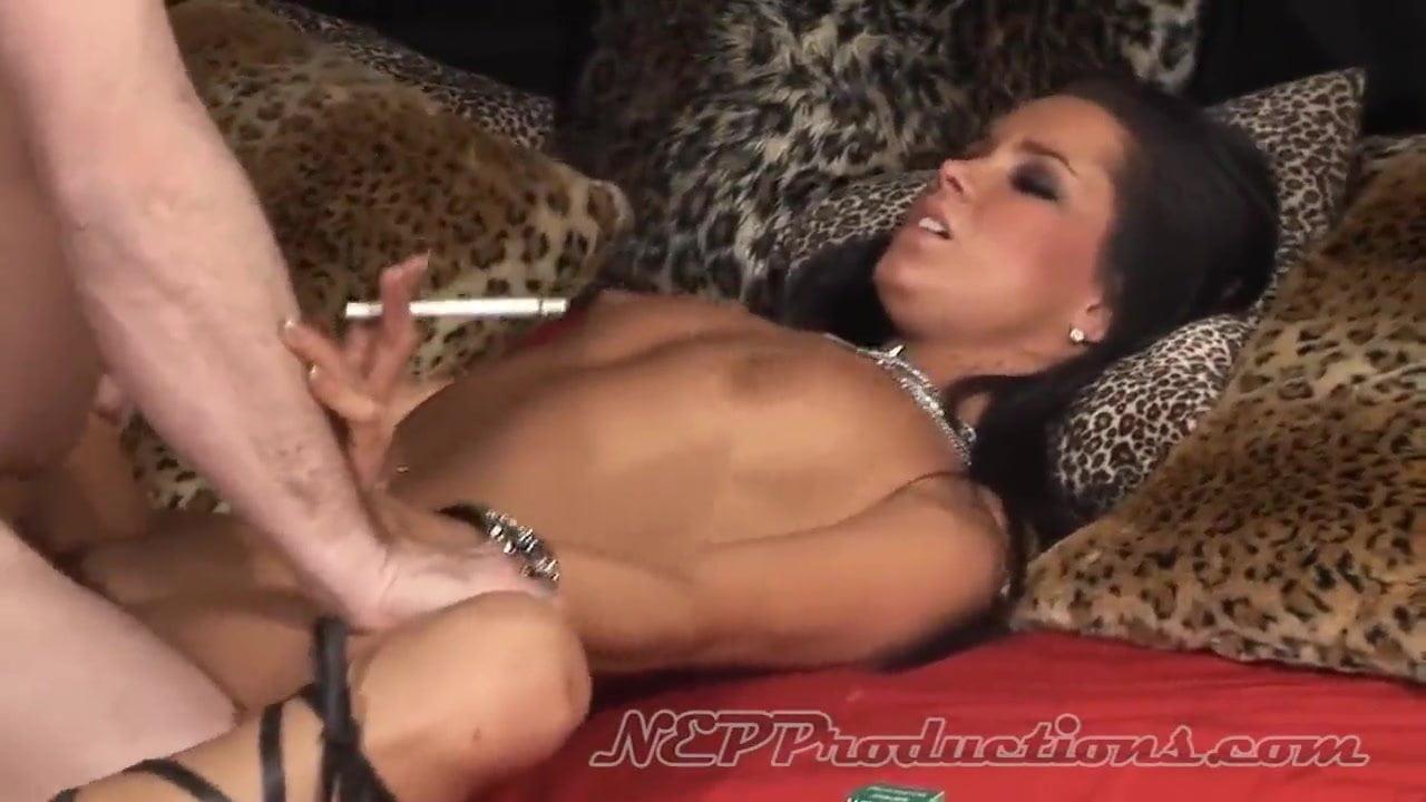German Brunette Smoking Sex