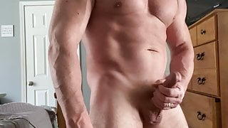 Muscle and Big Cock