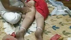 BIG INDIAN ASS MASSAGED