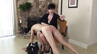 Over the Babysitter's Knee (spanking)